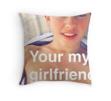 Jacob Sartorius you're my girlfriend Throw Pillow