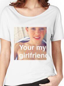 Jacob Sartorius you're my girlfriend Women's Relaxed Fit T-Shirt