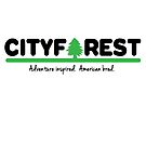 Cityforest - A Tree in the City (Colorway #2) by edwardengland