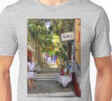 Symi Alleyway Steps Unisex T-Shirt