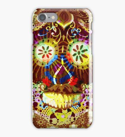Gold sugar iPhone Case/Skin