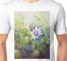 Passionfruit vine with passionflower  Unisex T-Shirt