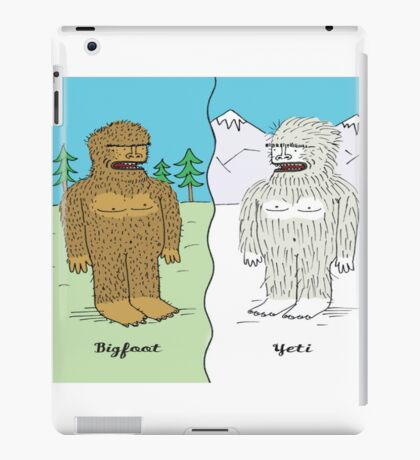 Bigfoot & Yeti iPad Case/Skin