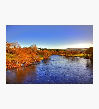 River Tay at Aberfeldy Photographic Print