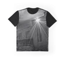 Sun Rays - Pilgrim Psychiatric Center Abounded Building Detail | West Brentwood, New York Graphic T-Shirt
