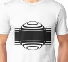 Binary 49 - Minimalist Black Stripe Sphere Unisex T-Shirt