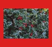 Frost on Holly Hedge Baby Tee