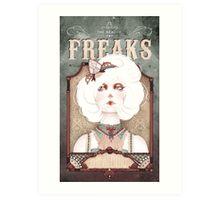 The Beauty Freaks - The Albino Art Print