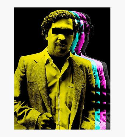 El patrón Colors Photographic Print