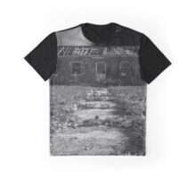 Pilgrim Psychiatric Center Abounded Building | West Brentwood, New York Graphic T-Shirt