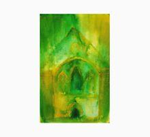 Valle Crucis Abbey (yellow & green) Unisex T-Shirt