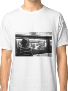 Commuter Time – Paris, France Classic T-Shirt