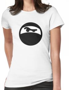 Ninja Womens Fitted T-Shirt