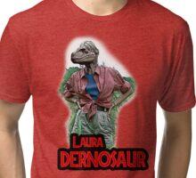 Laura Dernosaur Tri-blend T-Shirt