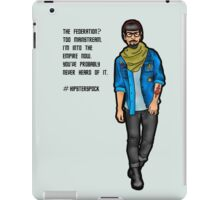 Hipster Spock iPad Case/Skin