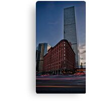 The Brown Palace Canvas Print