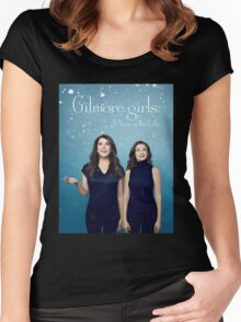 Gilmore girls - a year in the life - netflix series Women's Fitted Scoop T-Shirt