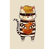 Catburglar Photographic Print
