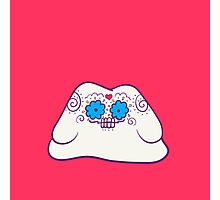 Ditto Popmuerto | Pokemon & Day of The Dead Mashup Photographic Print