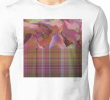 Posies and Plaid Unisex T-Shirt