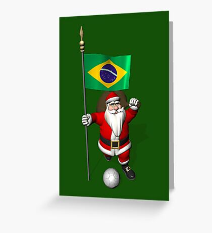 Flag Of Brazil Greeting Card