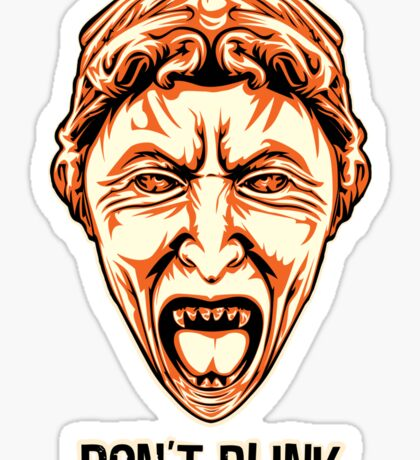 Weeping Angel - Don't Blink - Doctor Who Sticker