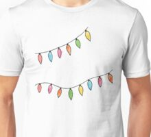 christmas lights Unisex T-Shirt