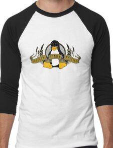 Arrogant Linux Elitist Men's Baseball ¾ T-Shirt