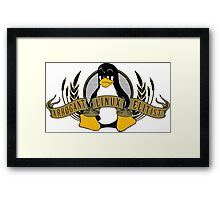 Arrogant Linux Elitist Framed Print