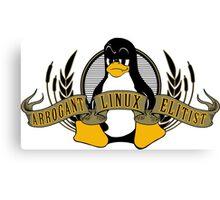 Arrogant Linux Elitist Canvas Print