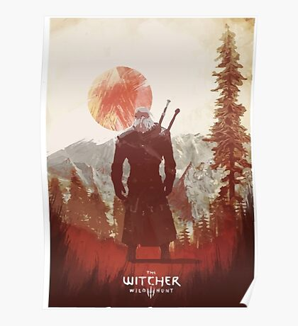 Witcher - Artwork Poster