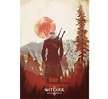 Witcher - Artwork Photographic Print