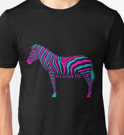 Rare Zebra Life Unisex T-Shirt
