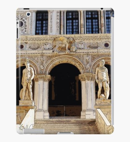 The Lion's Guards, Photo / Digital Painting  iPad Case/Skin