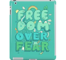 Freedom Over Fear iPad Case/Skin