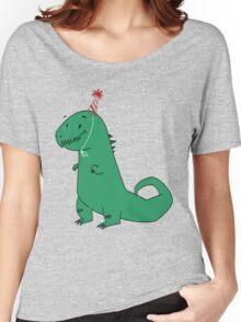 Birthday Dinosaur Women's Relaxed Fit T-Shirt