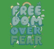 Freedom Over Fear Kids Clothes