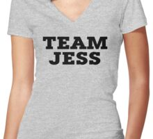 Team Jess Women's Fitted V-Neck T-Shirt