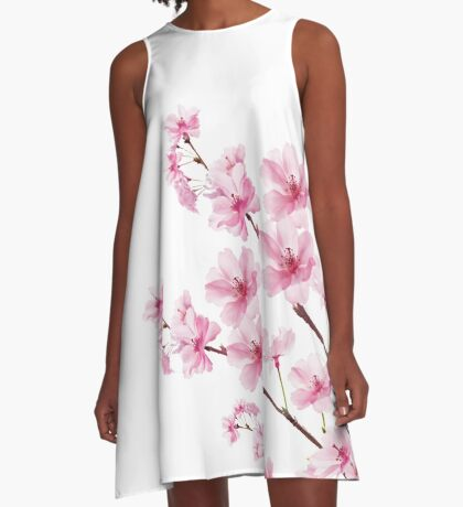 Sakura Cherry Blossom A-Line Dress