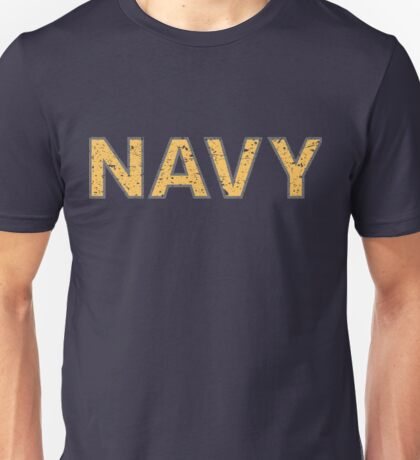 Distressed NAVY  Unisex T-Shirt