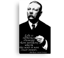 Life is Inifinitely Stranger Canvas Print