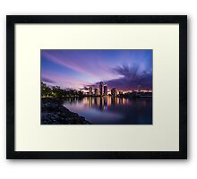 Surfers Paradise Framed Print