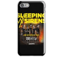 Sleeping With Sirens Tour iPhone Case/Skin
