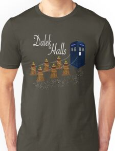 A Dalek Christmas - Dalek the Halls Unisex T-Shirt