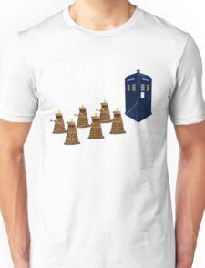 A Dalek Christmas - Dalek the Halls Unisex T-Shirt