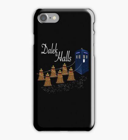 A Dalek Christmas - Dalek the Halls iPhone Case/Skin