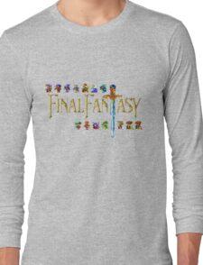 Final Fantasy Long Sleeve T-Shirt