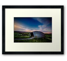 When the dawn is breaking... Framed Print