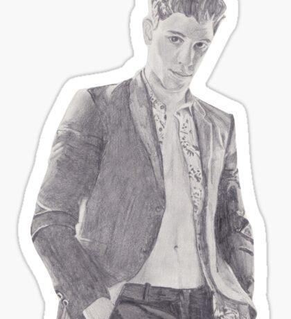 Shawn Luomo Vogue Sketch Sticker