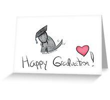 Jack the Scottie Graduation Card Greeting Card